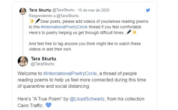 poesia coronavírus