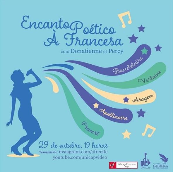 Encontro Poético à Francesa: mescla de poesia e música