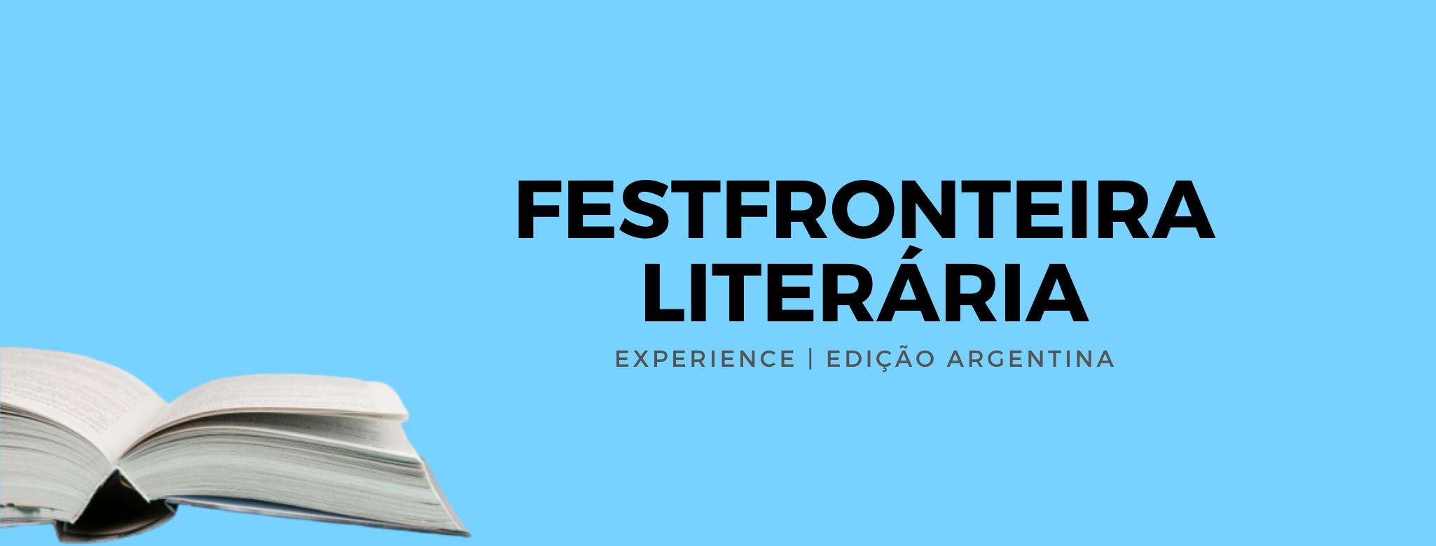 FestFronteira Literária 2020 evento será online e começa hoje