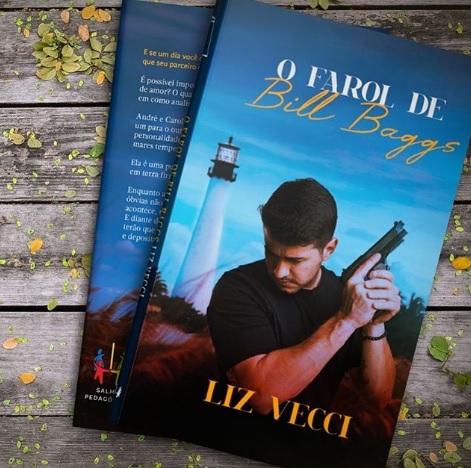 Advogada Liz Vecci lança seu primeiro livro de romance