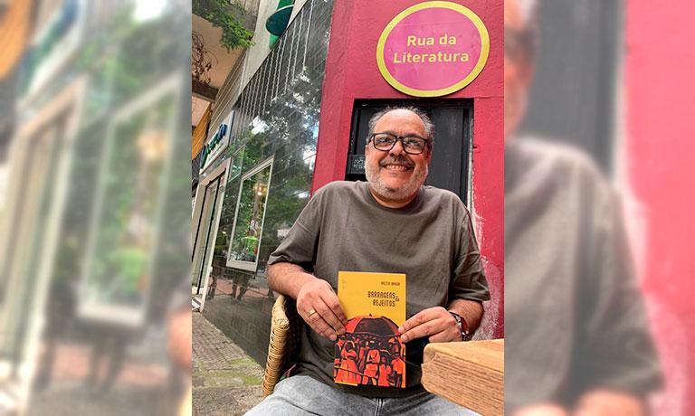 Barragens & rejeitos livro de estreia do compositor Valter Braga na poesia