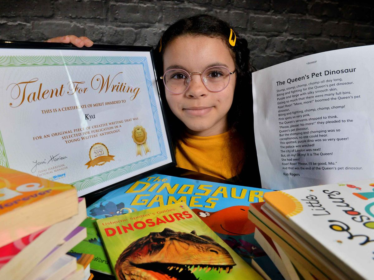 Escritora de apenas 10 anos tem seu primeiro livro publicado