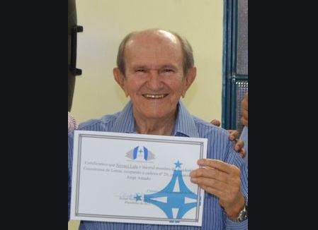 Nunca é tarde para a poesia: aos 90 anos Severino Novaci Lula estreia na poesia