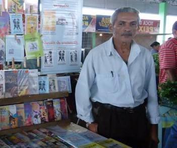 Morre o poeta, cordelista e um dos fundadores da AGL, José Ribamar dos Santos